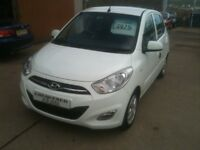 61 PLATE HYUNDAI I10 ACTIVE 5DR 30000MILES £20 ROADTAX 60+MPG £3975