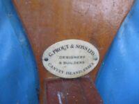 G.PROUT & SONS. VINTAGE SEABIRD FOLDING DINGHY
