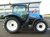 2014 New Holland T6.165 Electro Command, 705hours, in mint condition