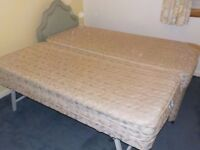 SAVOY STORABED SINGLE / DOUBLE BED WITH SECOND BED STORED UNDER. NOT SOFABED.