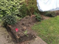 FREE garden soil to anyone who can collect it