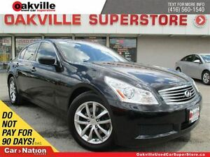 2009 Infiniti G37X LUXURY | AWD | HANDSFREE | LEATHER | SUNROOF