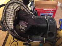 Graco stroller and baby carrier 150$ -- new was 400$