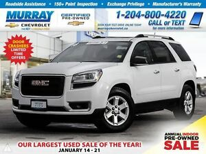 2016 GMC Acadia SLE2 *Sunroof, Remote Start, Rear View Camera*