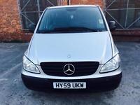 Mercedes Benz Vito Minibus 9 seats Automatic 2009 £6499