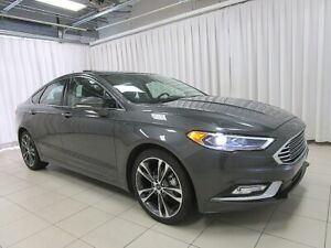 2018 Ford Fusion IT'S A MUST SEE!! TITANIUM ECOBOOST AWD SEDAN w