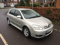 2005 TOYOTA COROLLA AUTOMATIC FULL TOYOTA SERVICE HISTORY 12 MONTHS MOT COLOUR COLLECTION VVTI