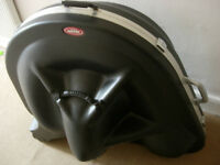 SKB sousaphone case-fibreglass, with wheels, very protective bargain price (cost over £600 new)