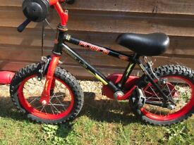 Kids bike age 2/4 as new condition