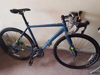 Brand New Saracen Hack Road Bike