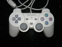 Official Sony PS1 DUAL SHOCK CONTROLLER (PSone White)