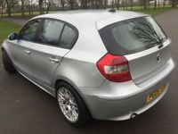 Bmw 116i Beautiful Artic Silver with BBS alloy wheels