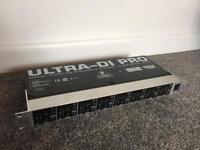 Behringer Ultra Di 800 8 way Di box