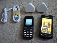 2x Samsung mobile phones - £10 for both - in perfect working order