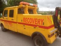 LDV recovery truck and van