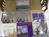 Classical Vinyl Albums x 7. British Collection. Vintage. Retro. 12'' 33 rpm. Circa '69. V.Williams..