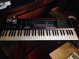 Roland jx3p vintage analogue synthesizer