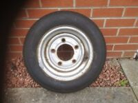Ifor Williams 3500kg trailer wheel with brand new tyre