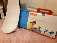 Stokke foldable bath and support used once