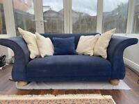 Unique love armchair sofa - ex John Lewis : RRP £1000