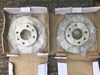 2 X Citroen Saxo /peugeot 106 Brake Discs, Veco VL098, 96070525,bg2213,df1217