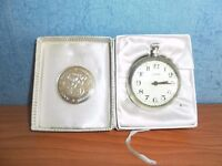 Vintage Silvalux Pocket Watch, Ingersoll Box