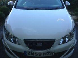 Seat Ibiza FR 2010 (150BHP) White 3 Door Semi Auto (DSG) 60K - Pocket Rocket