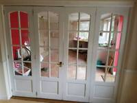 4 internal French Doors