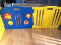 8 Panel Large Playpen Kids Childs Baby Educational Toys Play Pen Room Playground