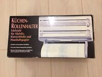 NEW - Triple Roll Dispenser for foil, cling film and paper towel