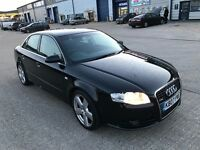 AUDI A4 S-LINE 2.0TDI 170BHP 2007REG FOR SALE