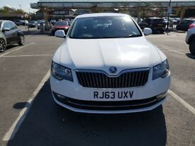 2014 Skoda SUPERB TDI CR 170Bhp Manual