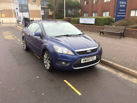 FORD FOCUS CC2 CONVERTIBLE BLUE 20000miles