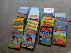 30 Beano & Dandy Annuals Mainly 80s 90s & 2000