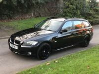2010 BMW 3 Series 2.0 320d SE Business Edition Touring 5dr Estate Diesel Manual Black SAT/NAV