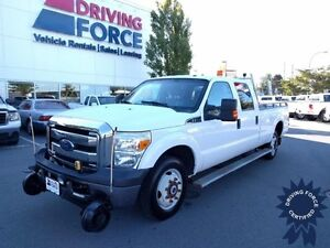 2014 Ford Super Duty F-350 SRW XLT Hyrail 4x4, Beacon, 52053 KMs