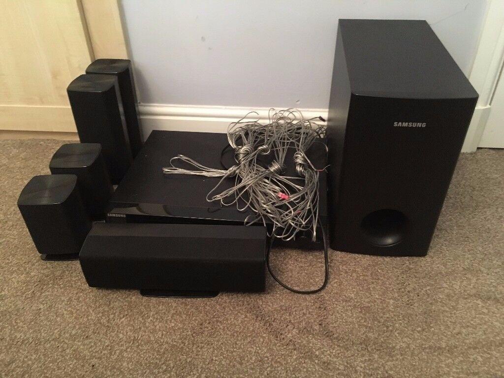 Samsung DVD Home cinema/ surround sound system.