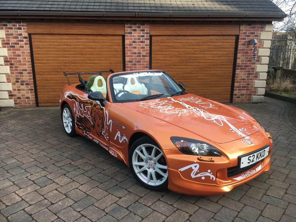 VERY RARE IMOLA ORANGE HONDA S2000 ONE OF A KIND STUNNING SHOW CAR ...