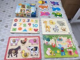 Toddler jigsaw set REDUCED
