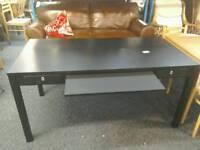 Black office desk #33881 £25