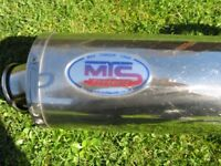 Truimph speedtriple exhaust by mtc