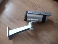 Dummy CCTV camera, security, for outdoor use, £5