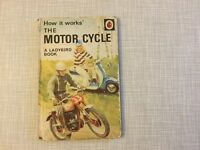Vintage ladybird book, how it works, The Motor Cycle