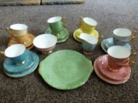 VINTAGE ROYAL ALBERT China .. 37 pieces. GOSSAMER.