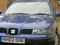 SEAT TOLEDO 1.9 S TDI 02 very cheap and economical car