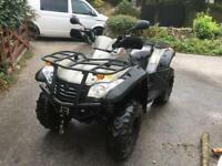 Quadzilla rs6 600cc Quad Bike 2014 road legal