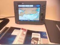 Raymarine C120 Multifunction Navigation Display - Chartplotter - Sonar - Radar