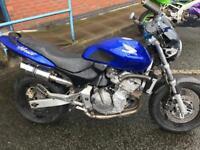 Breaking Honda hornet 600cc