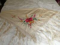 Vintage piano shawl