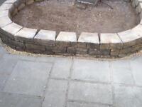 Bradstone Mountain Block Walling blocks, 60 in total (Bristol).